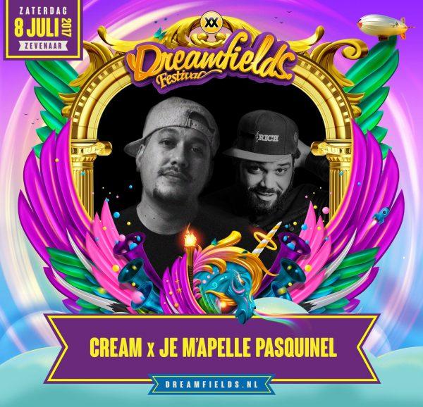 Cream x Je M'Apelle Pasquinel
